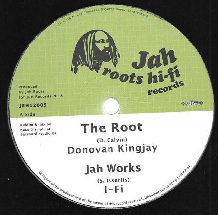 Donovan Kingjay - The Root / I-Fi - Jah Works / Aba Ariginal - Ariginal Roots (Jah Roots Hi-Fi) 12""